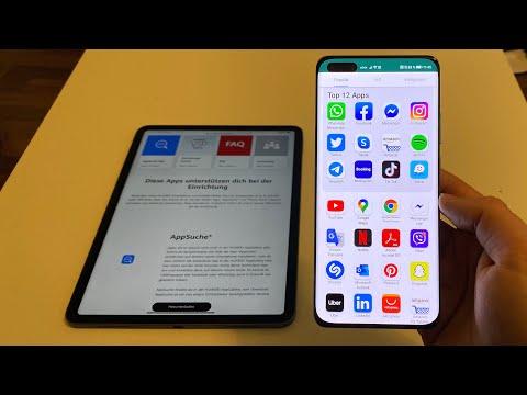 Huawei P40 Pro Apps, AppSuche & App Store installieren