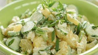 Картофельный салат от Дженнаро Контальдо