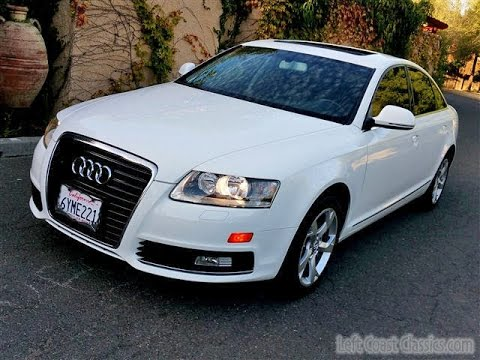 2010 Audi A6 for Sale in Ibus White - YouTube