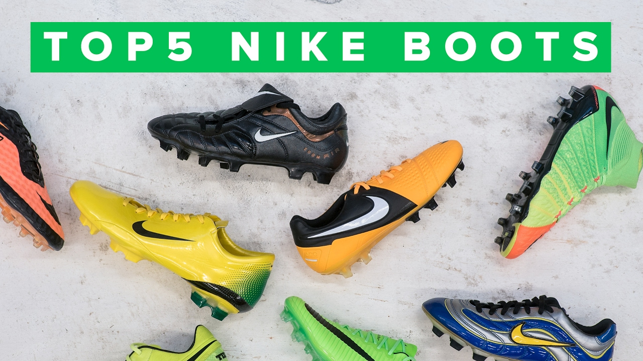 TOP 5 BEST NIKE BOOTS EVER - YouTube