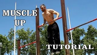 How to do the muscle up - tutorial with exercises and training program