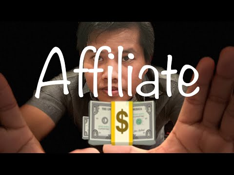 Affiliate: How to make money / nou SamAth