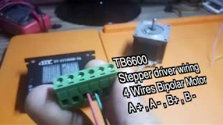 Controlling a Stepper Nema23 with a TB660 and Arduino