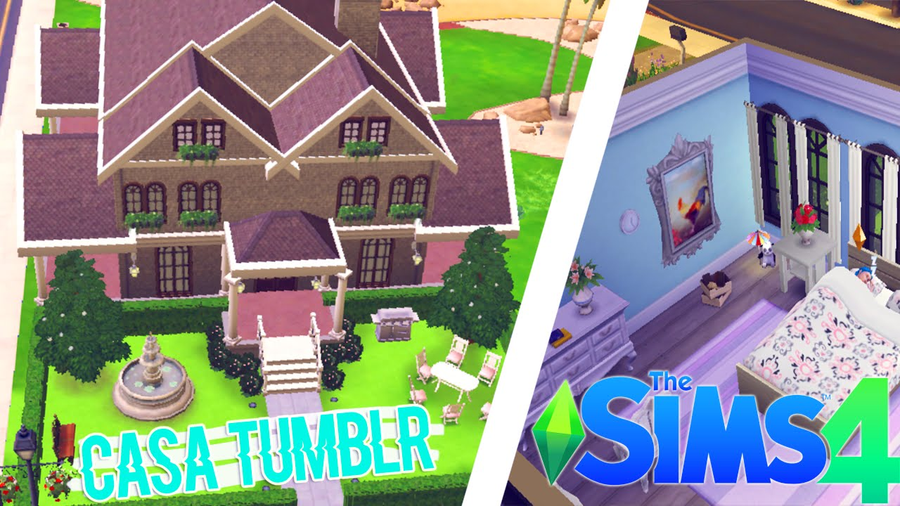 The sims 4 creo una casa tumblr speed building 2 youtube for Sims 4 piani di casa