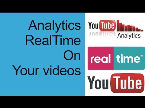 YouTube Analytics Real Time New Feature Update | youtube realtime view count