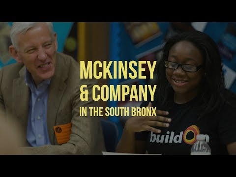 McKinsey & Company in the South Bronx