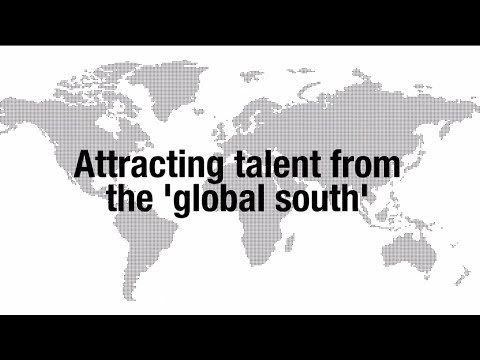 Attracting talent from the 'global south'