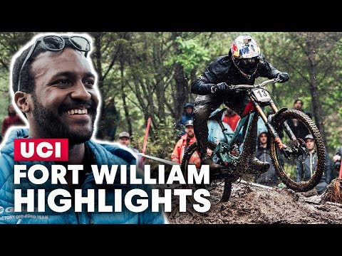 The Highlights From The Highlands   UCI Downhill MTB World Cup Fort William 2019