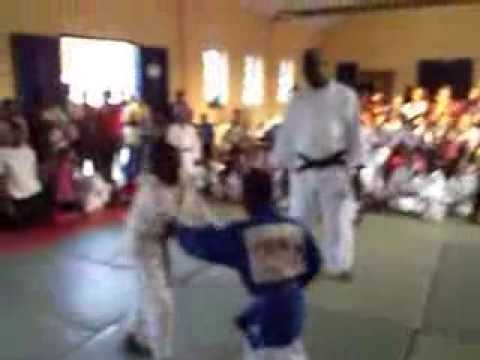 majeed vs lawrence JUDO CLUB ROMAN RIDGE OF GHANA TEST COMPETITION