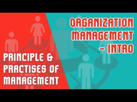 Principles and Practice of Management- Introduction | Organization | Management Mod 1 Part 1