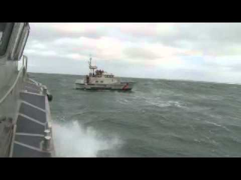 Coast guard conducts motor lifeboat training youtube for National motor lifeboat school