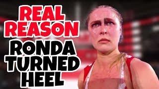 REAL REASON Why Ronda Rousey Turned Heel - WWE Raw Update 3/4/19