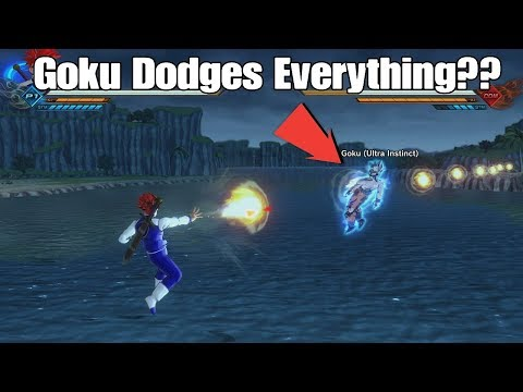 Xenoverse 2 Skill Comparison! UI Goku Dodge Vs Data Input! Ultra Instinct Dodges Everything