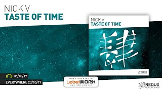 Nick V - Taste Of Time [Out October 6th]