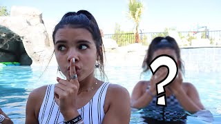 I Snuck my FRiENDS Over to Swim *my parents had no idea!