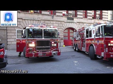 Fdny Full House Response Engine 7 Ladder 1