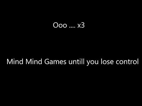 Sickick - Mind Games(Lyric Video)