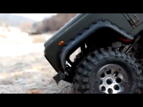 Realistic RC experience - Korea Scale Art Gallery Extreme Trucks(Winter Camp)