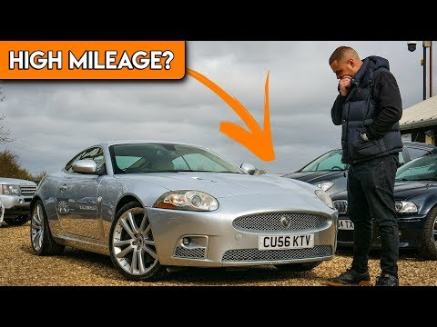 I BOUGHT A HIGH MILEAGE JAGUAR XKR!