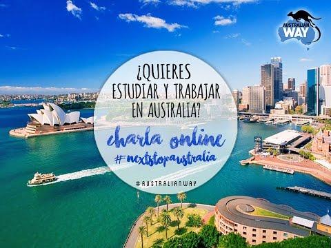 Charla online #NextStopAustralia - AUSTRALIAN WAY