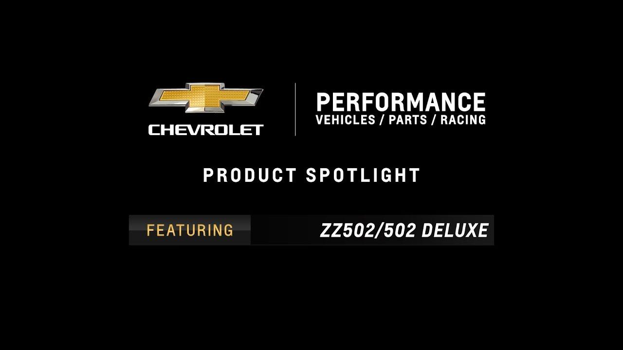 Chevrolet Performance - ZZ502/502 Deluxe Crate Engine - Information & Specs