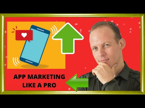 Mobile app marketing: How to promote & market mobile apps (Android iPhone). SEO, ASO, social media