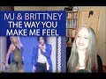 Voice Teacher Reaction to Michael Jackson - Brittney Spears - The Way You Make Me Feel