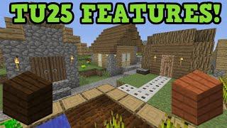 Minecraft Xbox 360 + PS3 - TU25 FEATURES & SECRETS - Change Log