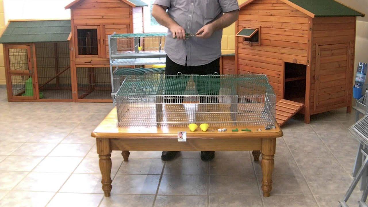 Cages cailles phase 2 montage art vc62 et vc63 for Abreuvoir lapin fait maison