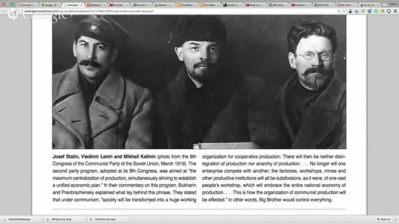 Aleksandr Solzhenitsyn S Quot The Jews In The Soviet Union Quot Pt