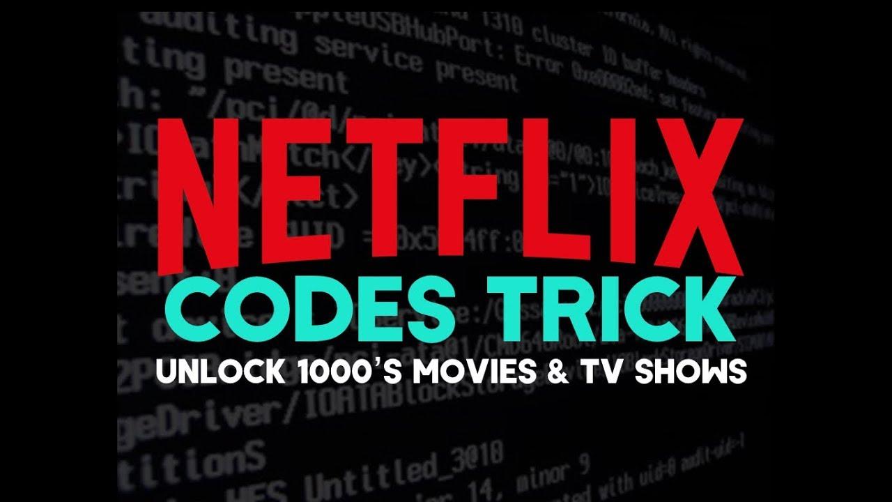 netflix musicals code