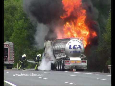 Fire truck. Incendio