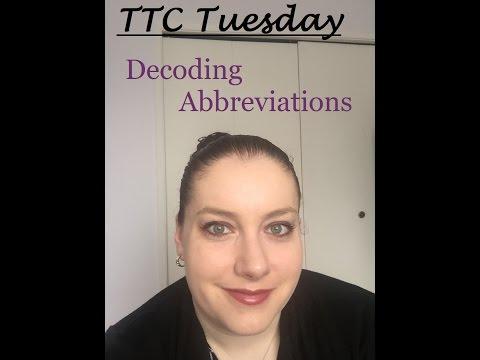 TTC Tuesdays A Basic Breakdown of Abbreviations
