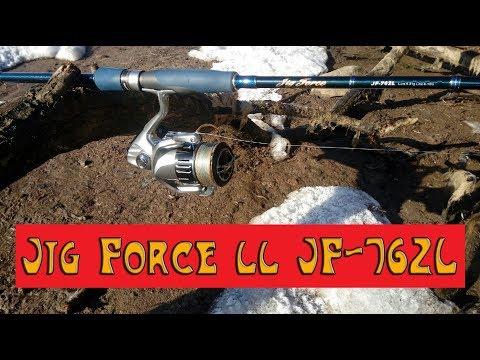 Спиннинг Hearty Rise Jig Force Ll JF 762L