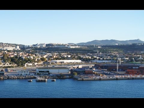 Marseille: The great port of Marseille (France) [HD]