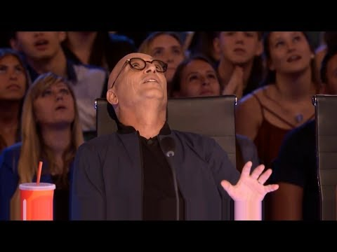 Bello Nock  Circus Performer Thrills From Towering Heights   America's Got Talent 2017
