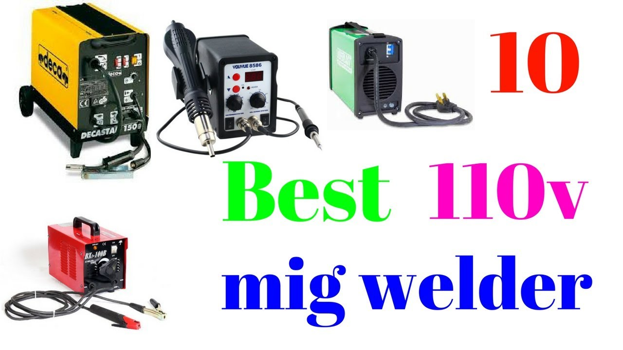 10 Best 110v mig welder - YouTube
