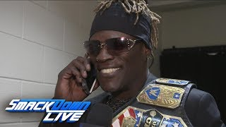Did John Cena give R-Truth a call before SmackDown LIVE?: WWE Exclusive, March 5, 2019