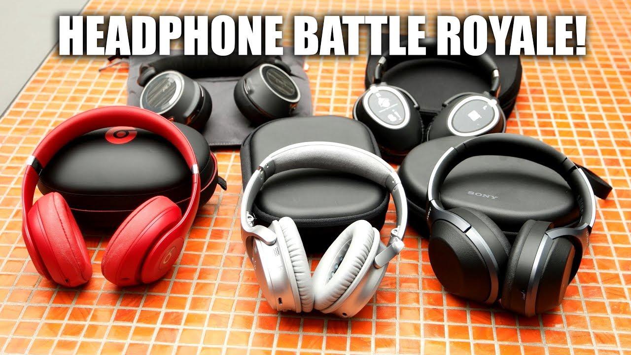 1371bb0ee8f Bose QC v Beats Studio3 v Sony 1000XM2 v Plantronics 8200 UC v Sennheiser  PXC550 - Story | KTTV