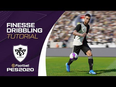 PES 2020 - FINESSE DRIBBLING TUTORIAL
