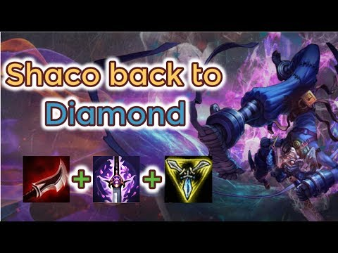 Shaco Back To Diamond [carrying Platin] Full Gameplay - Infernal Shaco