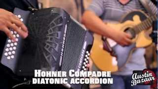 Hohner Compadre Accordion Demo AJ Castillo [Subtítulos Españoles]