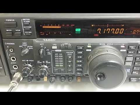 Radio Eritrea blasting in the UK 59 +10 db Signal on 40m Amateur  band 20/02/18