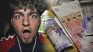 £10,000 CASH FOUND Whilst Exploring HAUNTED Abandoned FACTORY! NOT CLICKBAIT!