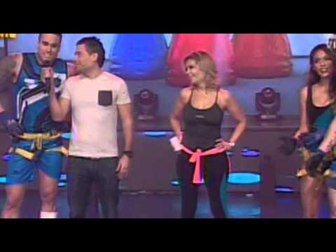 BRUNELLA vs FRANCESCA - ESCALERAS INCLINADAS @ ESTO ES GUERRA 04-06-14 SEXTA TEMPORADA from YouTube · Duration:  1 minutes 11 seconds