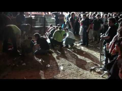 Camera Boom Falls Into Audience At Rock Concert Injuring Several People