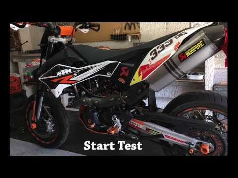 LITHIUM ION BATTERY for motorbike KTM Test