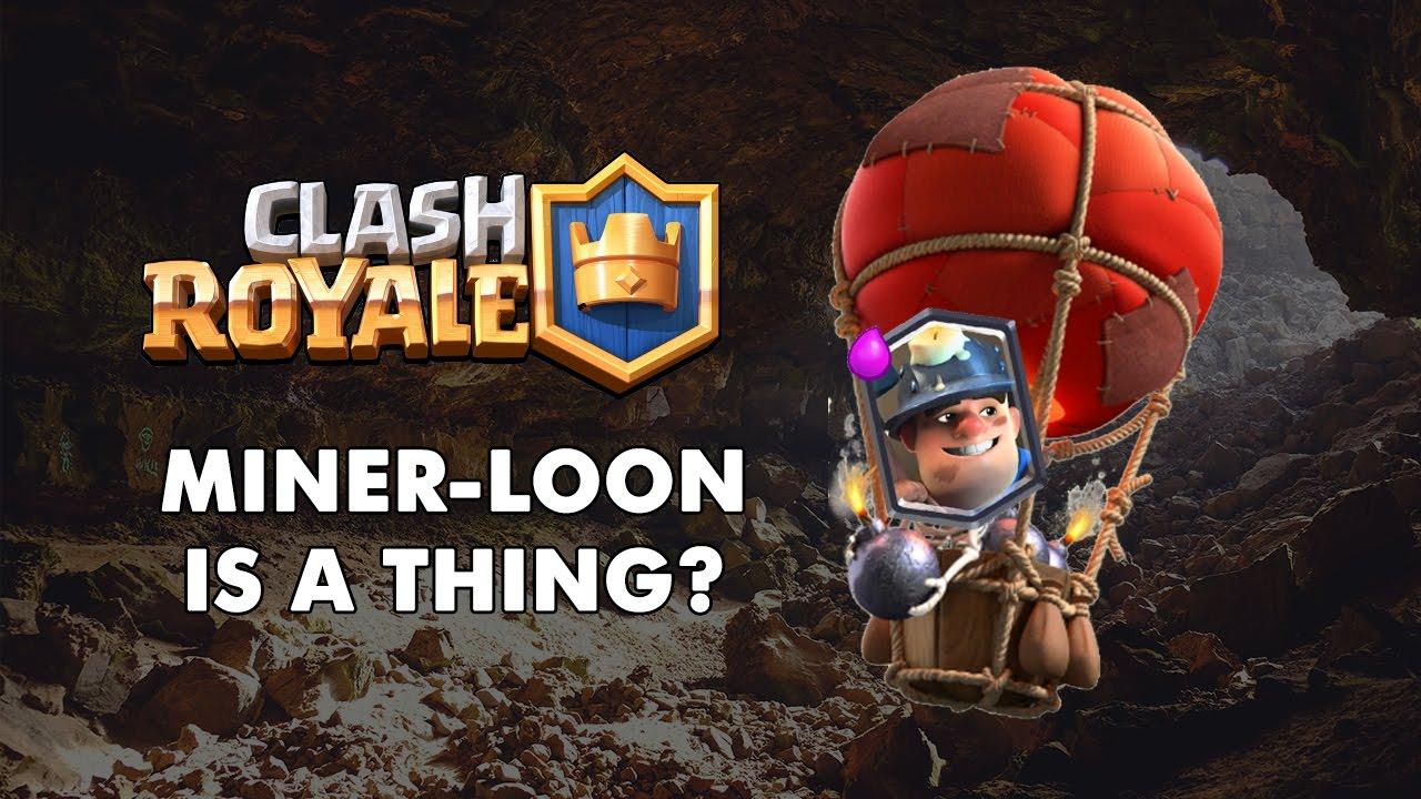 [Clash Royale] Miner + Balloon = Beautiful