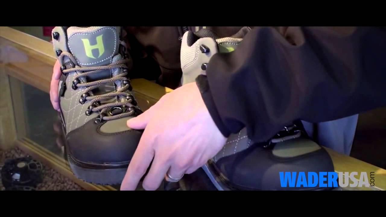 f6caa993eb62 Hodgman™ H3 Wading Shoes - WaderUSA.com - YouTube