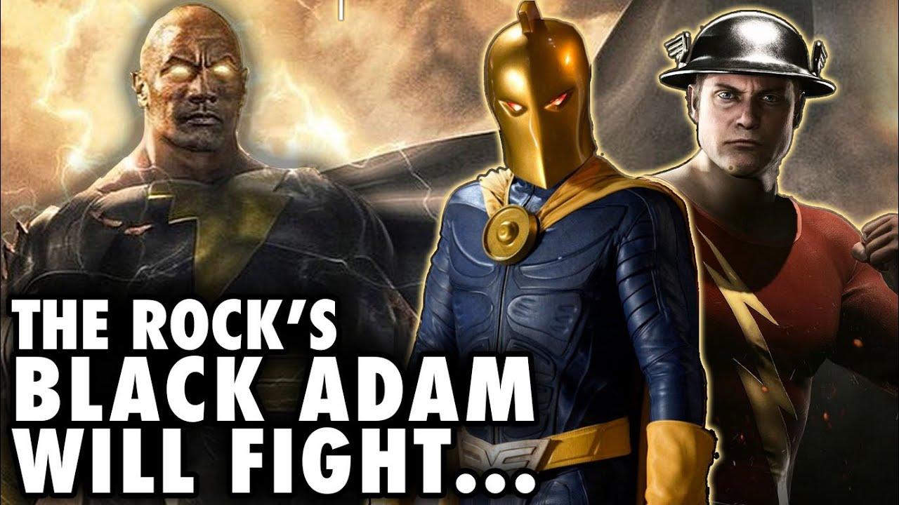 Dwayne Johnson Confirms That 'Black Adam' Will Feature DC ...